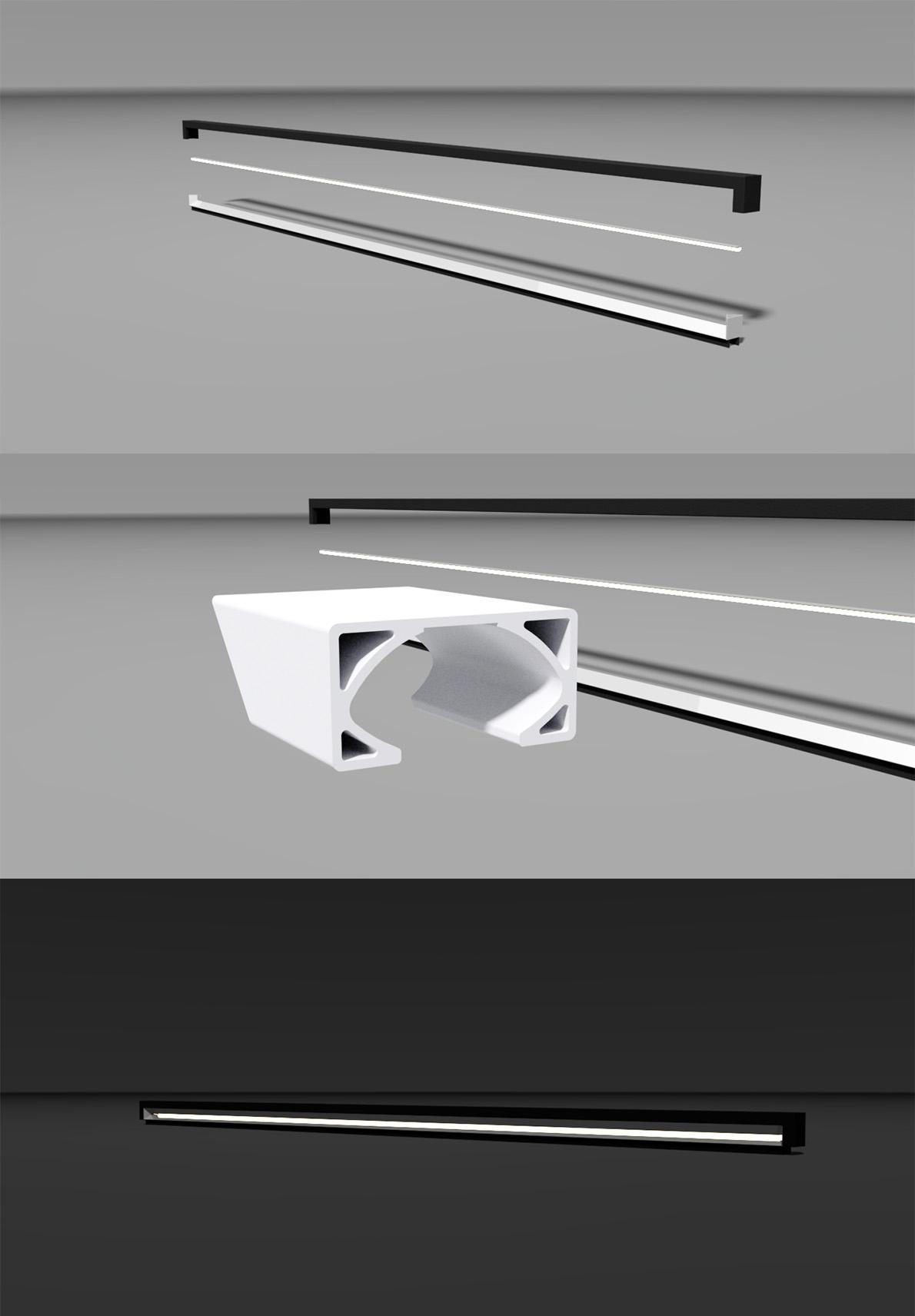 Lampontwerp-rendering