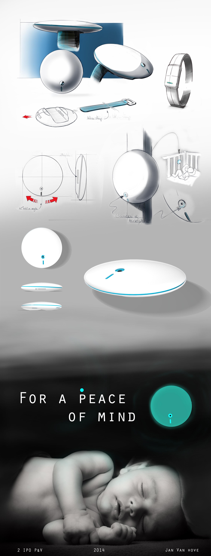 presentatiepaneel babyphone